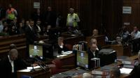 News video: Pistorius pleads not guilty to girlfriend's murder